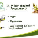 Hidegen sajtolt növényi olajok fogyasztása 2.