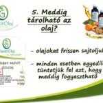 Hidegen sajtolt olajok fogyasztása 5.