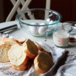 Bundás kenyér hidegen sajtolt dióolajjal