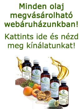 Hidegen sajtolt olajok webáruházunkban: www.aruhaz.gastrolaj.hu